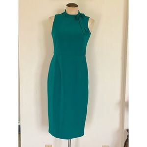 MAGGY LONDON Bow Detail Sheath Dress